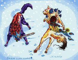 The Cold Battle by Mikan-no-Tora