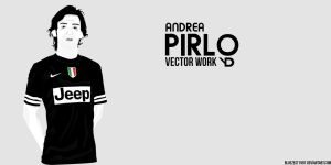 Andrea Pirlo Vector by bluezest1997