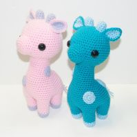 Gilly and Cobalt by Heartstringcrochet