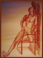 Life drawing 007 by MystiqueX