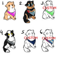 Realistic Dog Adopts by meefia