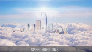 City in the sky by SpeedHDesigns