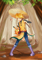 Yellow of the Viridian Forest by Rene-Elric