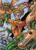 DC Comics 'The New 52' - Aquaman by tonyperna