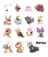PokeFantasia: Mustaches by Tapichu
