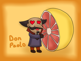 PL fruit chibi - Don Paolo by kenabe