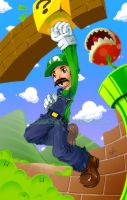 It's me... Luigi by Lumaga