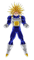 Colored 003 - Trunks 001 by VICDBZ