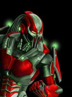 Mortal Kombat 9: Cyber Ermac by shadow-rider2