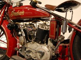 V twin engine 1927 Indian Steve McQueen 1 of 3 pic by Partywave