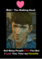 Ben Walking Dead by EeveeMoon413