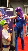 Radiance and Hum Drum Cosplay (NYCC 2014) by KarNYCLoAMR