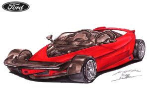 Ford Indigo Supercar Concept by toyonda