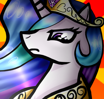 Princess Sun Butt  by moved-to-tuzziixx