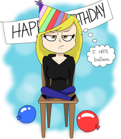 Birthday or whatever by The-Capricious-Clown
