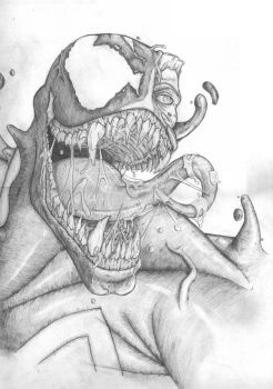 venom_pencil by DnaTemjin