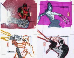 marvel Universe sketch cards5 by TomKellyART