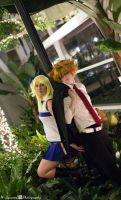 Fairy Tail: Leo and Lucy by SoraKazuma