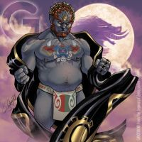 G is for Ganondorf by Arzeno