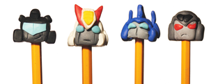 Transformers pencils by LyricaBelachium