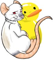 You keep thinking that-Ducky by Stais