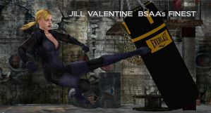 Jill Valentine   BSAA's FINEST by blw7920