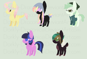 Almost Daily Adopt Set #2 [OPEN] by Dorkly-Draconic