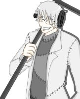 Soul Eater - Dr.Stein by lazylittlefox