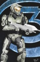 Halo Poster by CrunchyMetal