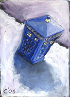 Card 2: TARDIS by RJDaae