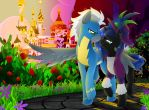 A Stroll Through the Rose Garden by DayDreamerPony