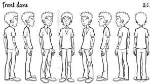 Trent - model sheet by S-C
