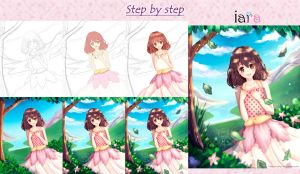 Yui Step By Step by Nailyn