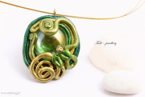 Fairy serpents by Tuile-jewellery
