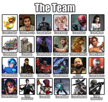 Video Game Hero Team by Red-Rum-18