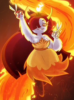 Hekapoo by TurtleCavez