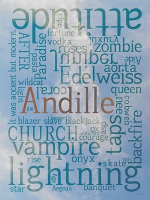 Andille Typeface Poster 2 by ncfwhitetigress