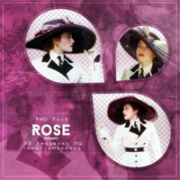 ROSE (from Titanic Movie) PNG Pack #1 by LoveEm08