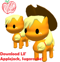 Soup's on, Everypony! + Applejack Accessory DL by Lala-Fruitcake
