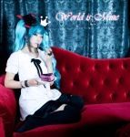 World is Mine_Miku cosplay by RoezNoah917