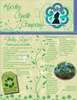 Soy Candle Flyer by sevymama