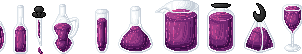 SPRITE: Potions by JaziSnake