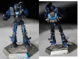 Battletech Shadowhawk new model paintjob by KittyHMommy