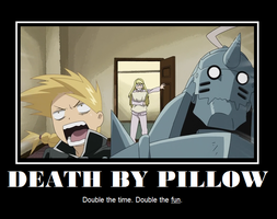Death by Pillow by Nefertekas