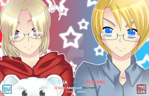 APH - North American Brothers by BlacHound