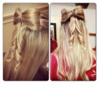 Elegant hair bow by u22andme22