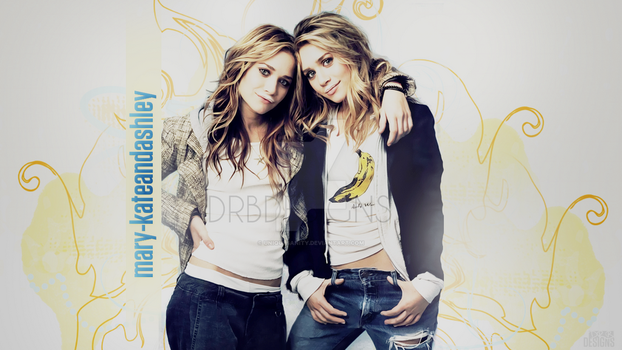 Mary Kate and Ashley Wallpaper by UniqueSanity