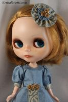 Blythe in Powder Blue 1 by KerriaRosette