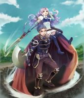 Hector and Florina by angorilla