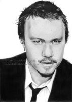 Heath Ledger by Ilojleen